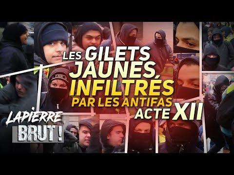 AGRESSÉS PAR DES ANTIFAS CHEZ LES GILETS JAUNES ! –Lapierre, brut !