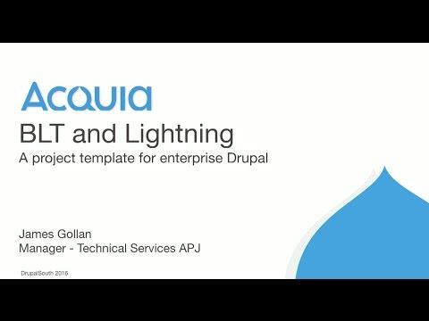BLT and Lightning - A project template for enterprise Drupal