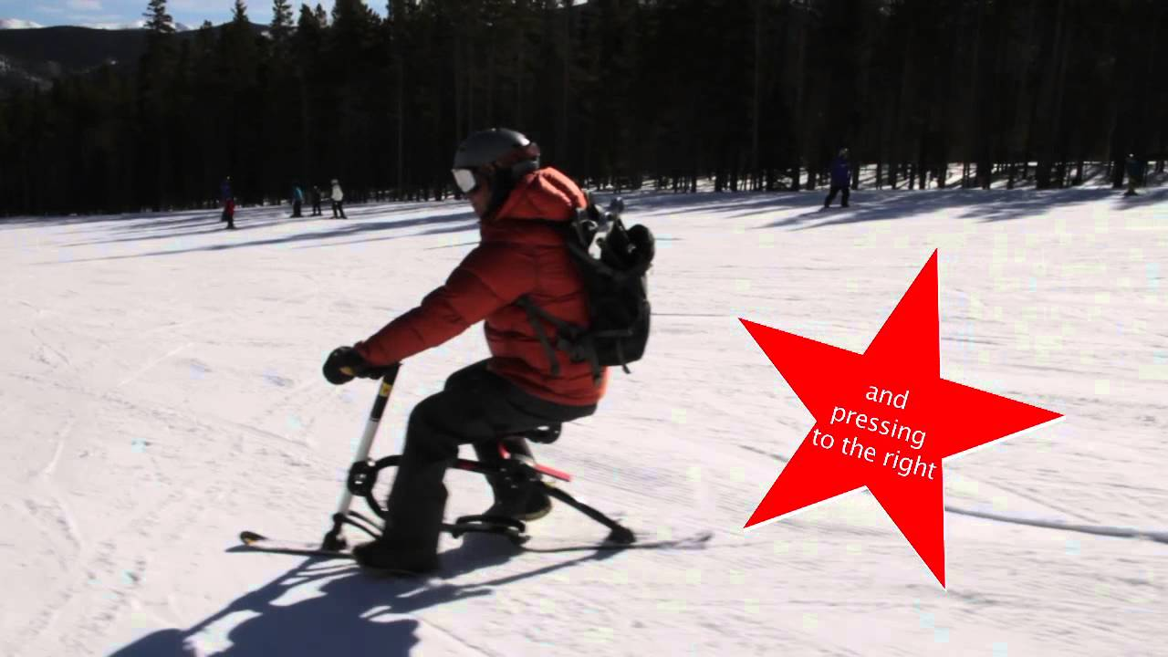 Skibike How To Ride Youtube