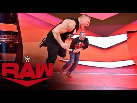 "HINDI - Rey Mysterio ne hamla kiya ""The Beast"" Brock Lesnar par: Raw, Nov. 5, 2019"