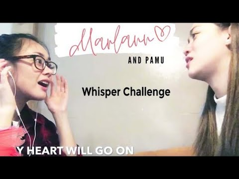 Marlann and Pamu Whisper Challenge