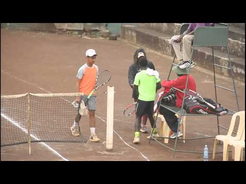 Ryan Randiek vs Damien Laporte - East Africa Junior Boys Tennis Championship Finals