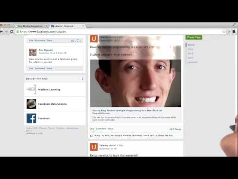 Facebook Example 1 - Intro To AJAX