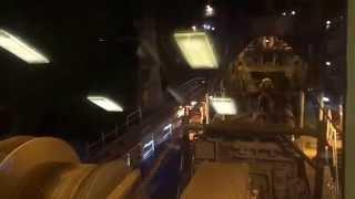 New Suez Canal: exclusive video of the cockpit Erakh UAE harbor during work