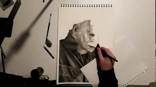 Halloween 2018 Michael Myers Speed Drawing