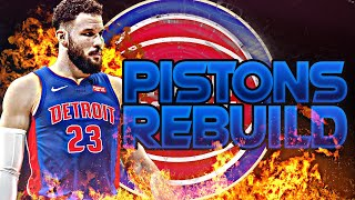 BLOWING UP THE PISTONS REBUILD! (NBA 2K20)