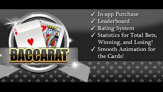 Baccarat Card Casino Game iOS source code - sellmyapp.com