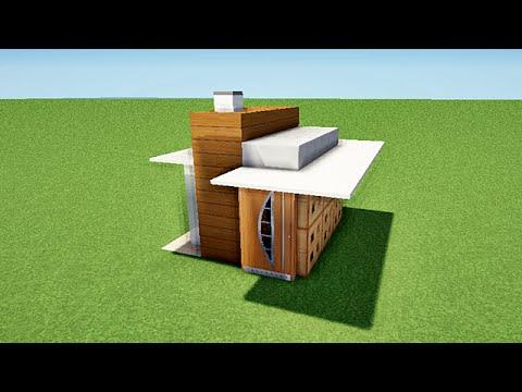 Minecraft tuto comment faire une maison 3x3 map youtube - Comment faire une chambre moderne minecraft ...