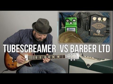 Overdrive Pedals For Tone: Tube screamer VS Barber LTD OverDrive Pedal Comparison