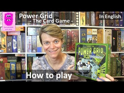 Power Grid The Card Game, how to play (In English)