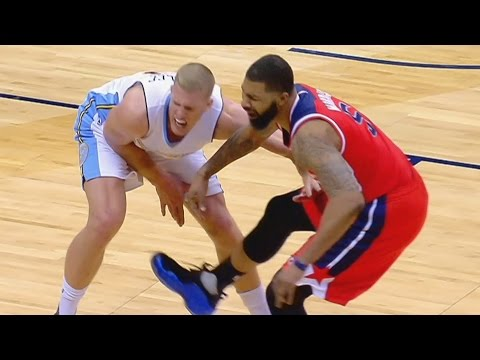Markieff Morris Ejected for Draymond Green Type Kick! Wizards vs Nuggets