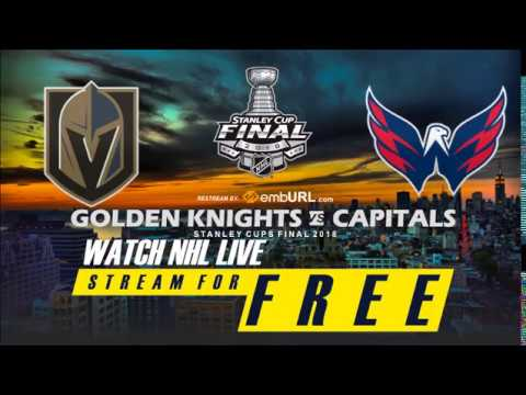 (LIVE NOW!) GAME 5 2018 Stanley Cup Finals Washington Capitals Vs Vegas Golden Knights Live Stream