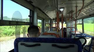 JR大船渡線BRT 大船渡丸森~陸前高田 JR Ōfunato Line (BRT) Ōfunatomarumori to Rikuzen-Takata Station (2020.8)