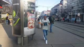 HUMBLESMITH HAVING FUN IN VIENNA (AUSTRIA).