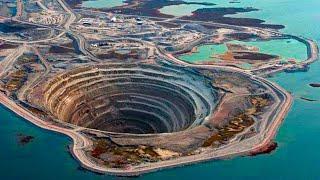 САМЫЕ НЕОБЫЧНЫЕ И БОЛЬШИЕ ДЫРЫ В МИРЕ. ТОП 7 самых гигантских дыр на земле.