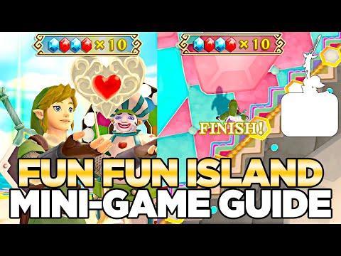 How to Beat the Fun Fun Island Mini-Game in  Skyward Sword HD