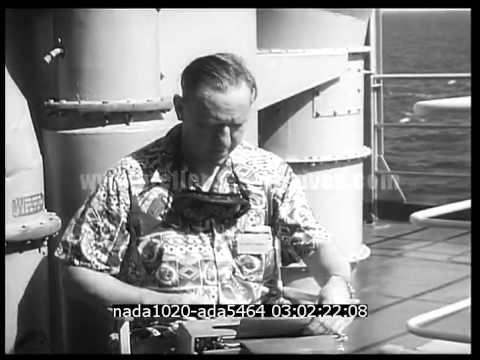 A bord de l'USS Mckinley