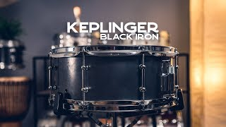 Snare Spotlight: Keplinger Black Iron Snare Drum