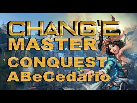 SMITE! Chang'e, Y mira que yo lo intento! Master Conquest Abecedario S4 #24