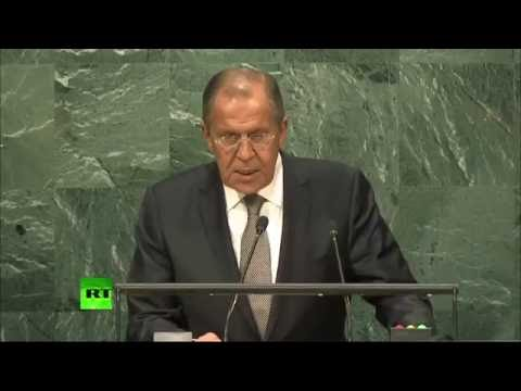 Crucial to avoid collapse of US-Russian agreements on Syria - Lavrov at UNGA (FULL)