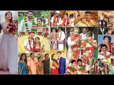 South Indian Actress Marriage & Wedding Reception Photos | Telugu Tamil Malayalam Kannada