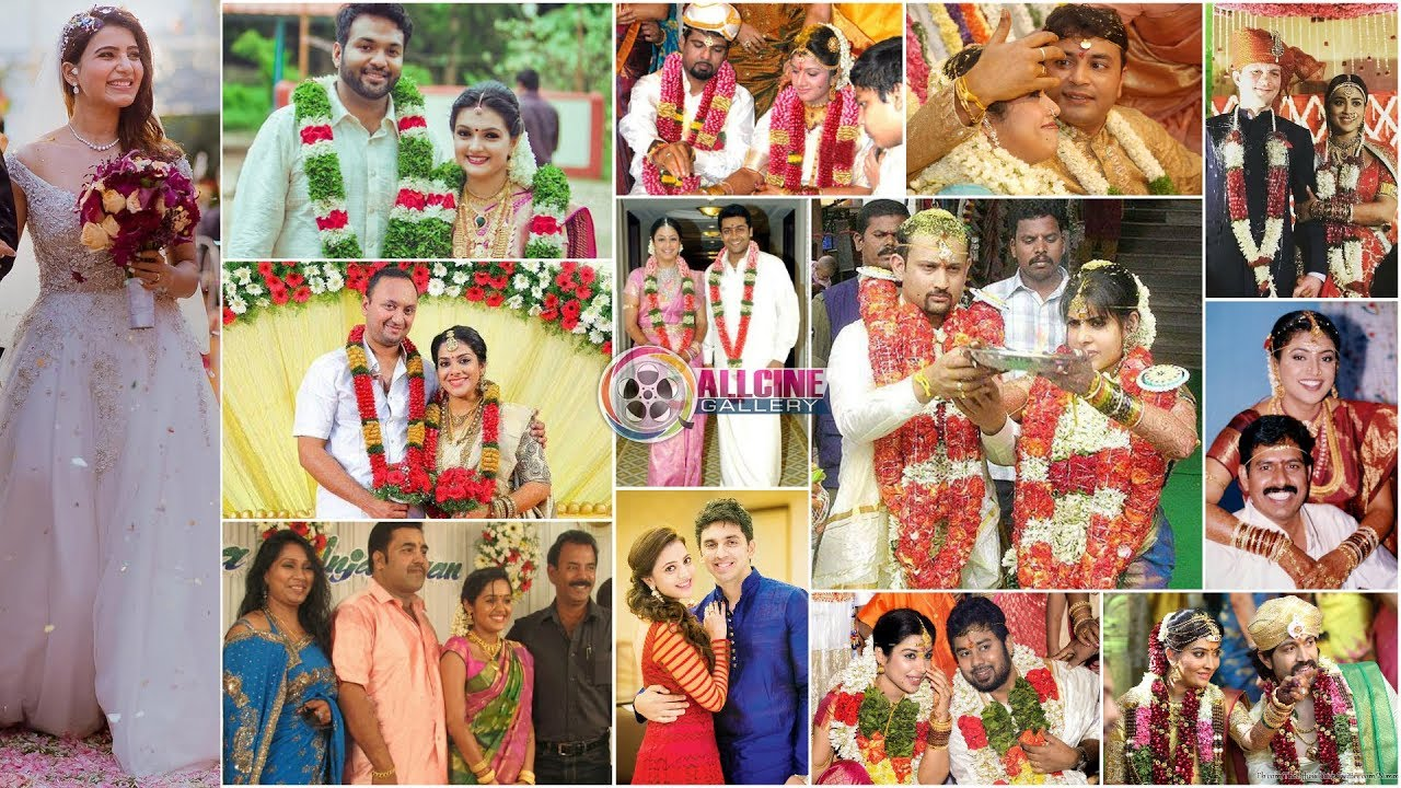 South Indian Actress Marriage Wedding Reception Photos Telugu
