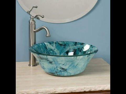 The Best Sink design ideas For Simple Bathroom and Kitchen 2017