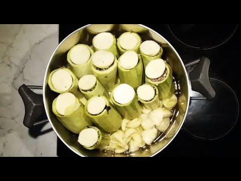 Κολοκυθάκια γεμιστά με αυγολέμονο στην κατσαρόλα η συνταγή της μαμάς cuzinagias  pumkins stuffed