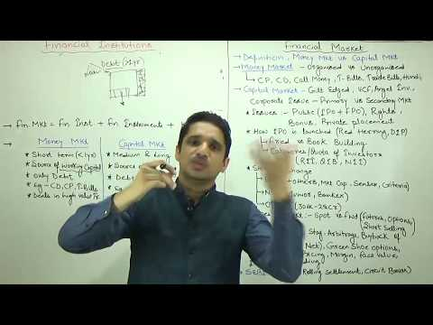 (1/3)Financial Market_Money & Capital Market Explained by M K Yadav