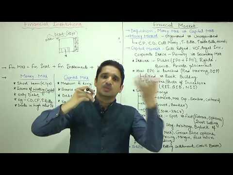 (1/3)Financial Market_Money & Capital Market Explained by M K Yadav