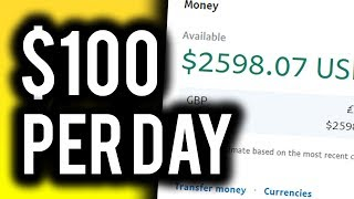 Earn $100+ PER DAY For FREE!   Step By Step Guide To Make Money Online in 2020