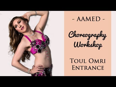 Toul Omri Entrance Mini Choreography Workshop | Learn to Belly Dance with AAMED