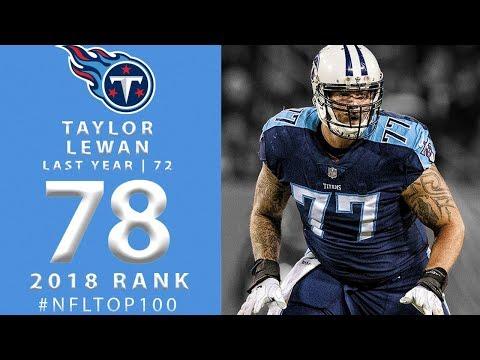 #78: Taylor Lewan (OT, Titans)   Top 100 Players of 2018   NFL