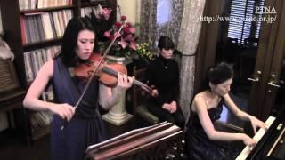 "Franck: Violin Sonata Mov.3 ""Recitativo-Fantasia: Ben moderato"" Pf.岡田真季, Vn.田中佑子"