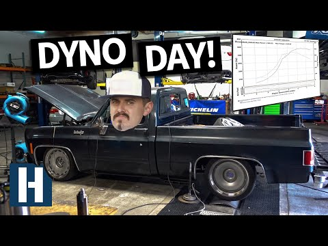 First Dyno Run in the Texas Speed Powered Chevy C10 Chopper Hauler!
