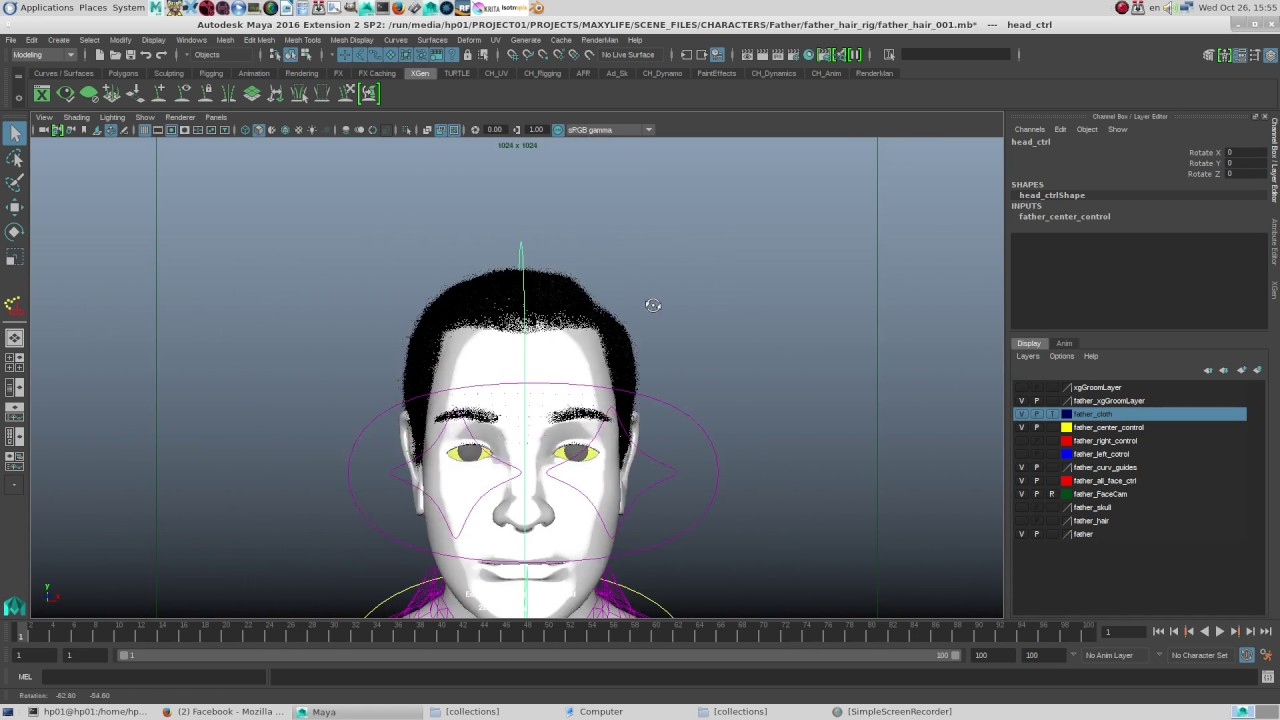 Curve_base Xgen Hairoper Tutorial Wille When Renderman 21  (non_commercial) Is Out
