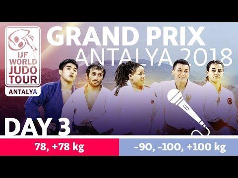 Judo Grand-Prix Antalya 2018: Day 3
