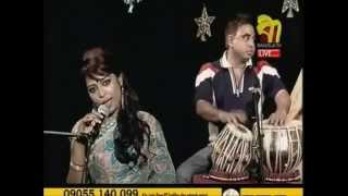 Amar Bondhu Doyamoy | Radha Romon - Saida Tania Live in Bangla TV