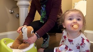 Potty Training with Tigger the Stuffed Tiger