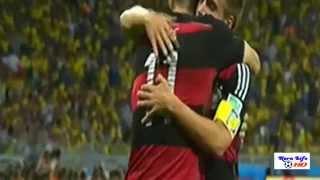 اهداف مباراة المانيا والبرازيل 7-1 مونديال البرازيل 2014 HD