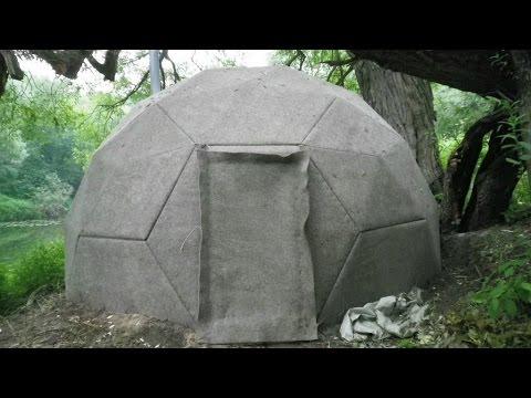 Баня купольная своими руками 771