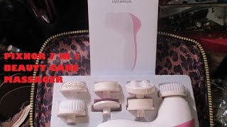 exfoliation product review pixnor 7 in 1 beauty facial massager