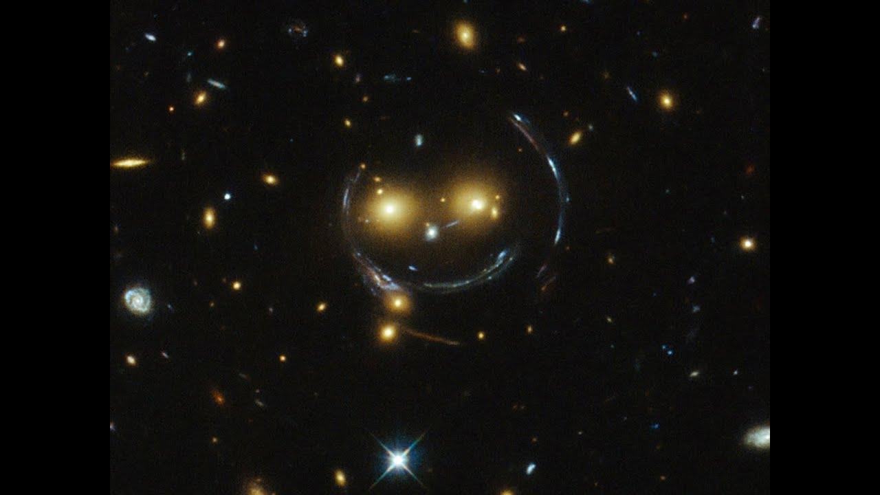NASA Hubble Telescope Discovers Huge Space Face - YouTube