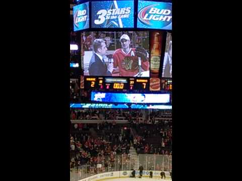 Blackhawks Player of the Game Interview - Patrick Sharp