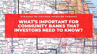 What's important for Community banks that investors need to know?