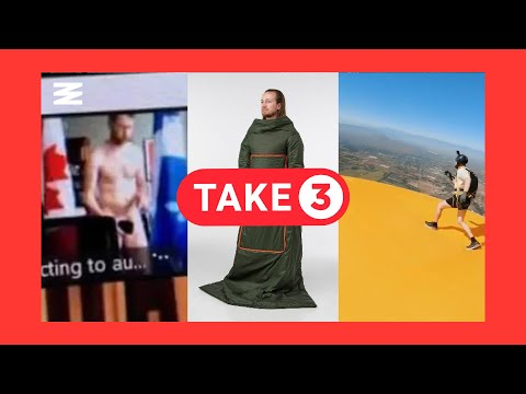 A Naked Canadian politician, a poop rampage in a BC Tim Hortons, and more! | Take 3