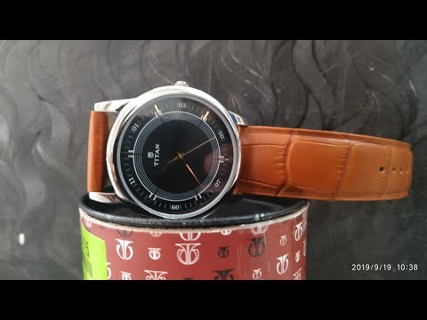 Titan 1773SL02 analog watch for man unboxing | by on flipkart | Rs 1500