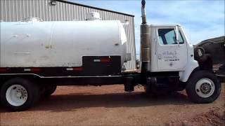 '85 IH F2375 Water Truck - BIGIron.com - Selling 10/16/13