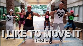 I LIKE TO MOVE IT REMIX | Zumba® Fitness | JM x CM