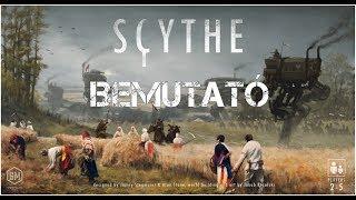 Scythe - társasjáték bemutató